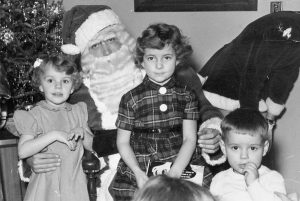 Le temps des fêtes dans les années 1950