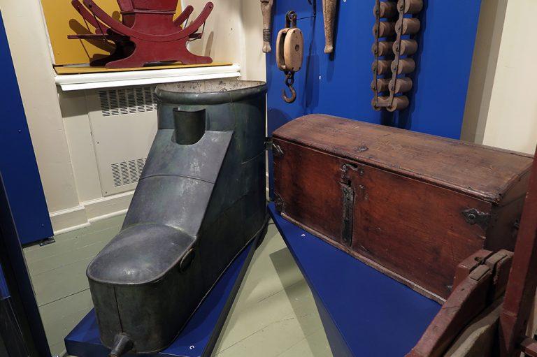 Les objets du Musée - Prendre son bain à Kamouraska