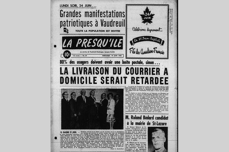 La Saint-Jean, en 1963