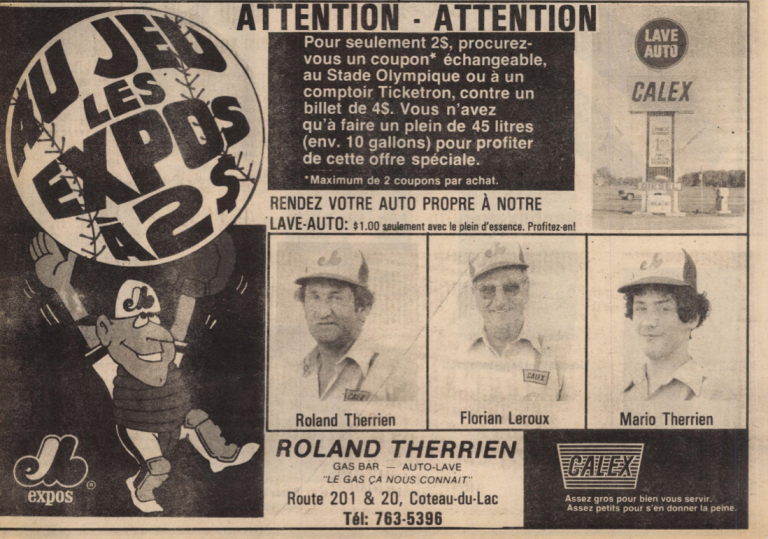 TOURNE DE BORD – JUIN, EN 1981